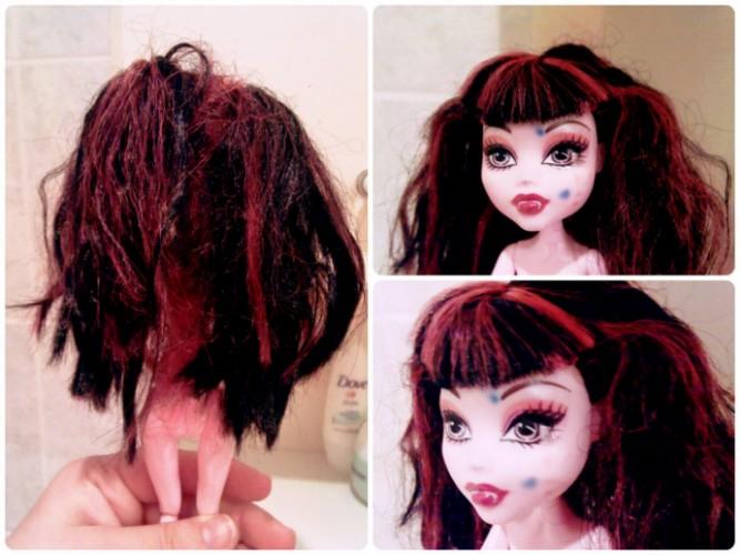 Волосы засаленные