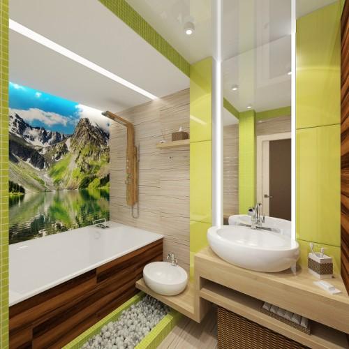 Дизайн комнат в экостиле